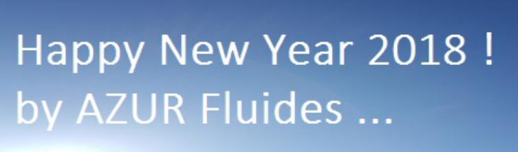 Bonne année 2018 ! By AZUR Fluides...